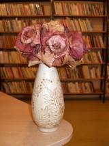 2012 Vyrábění růží z javorových listů